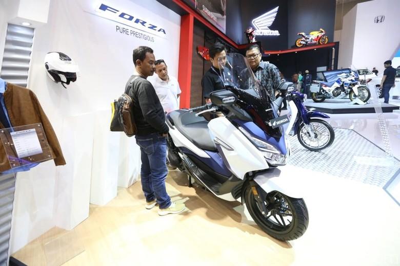 Honda Forza. Foto: Astra Honda Motor