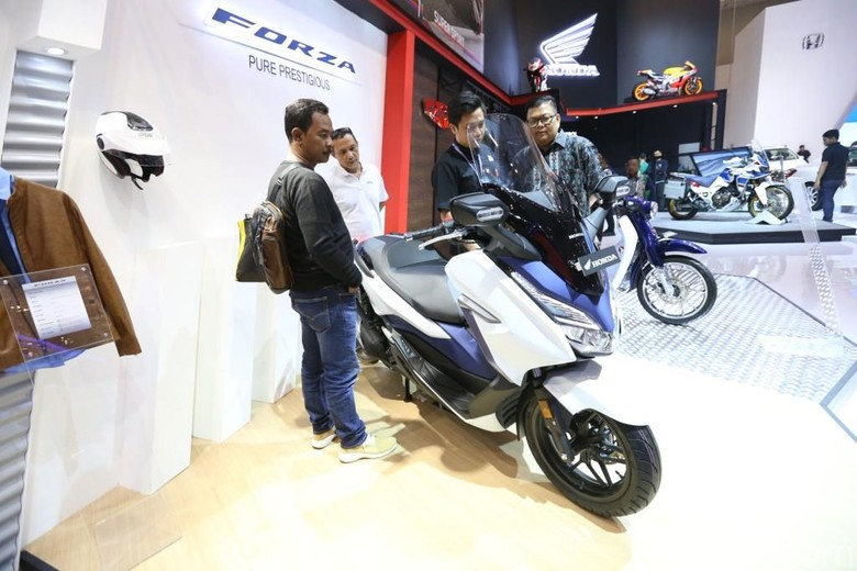 Skutik Honda Forza. Foto: Astra Honda Motor