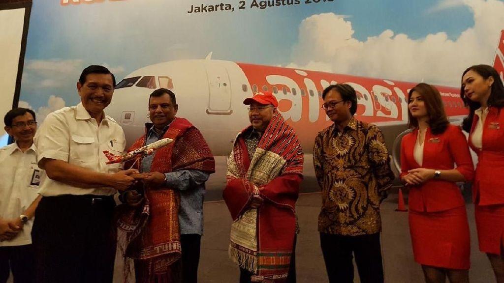 Menpar Apresiasi Maskapai Malaysia yang Buka Akses ke Danau Toba
