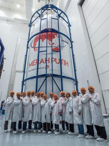 Persiapan Intensif SpaceX Jelang Peluncuran Satelit Merah Putih