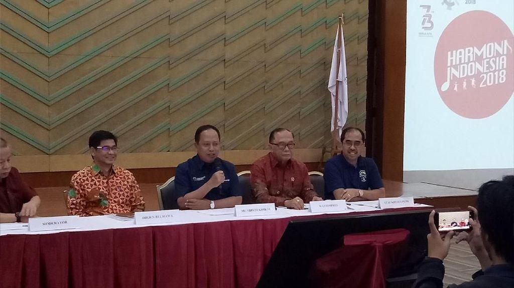 Pemerintah Gagas Harmoni Indonesia 2018 Sambut Asian Games