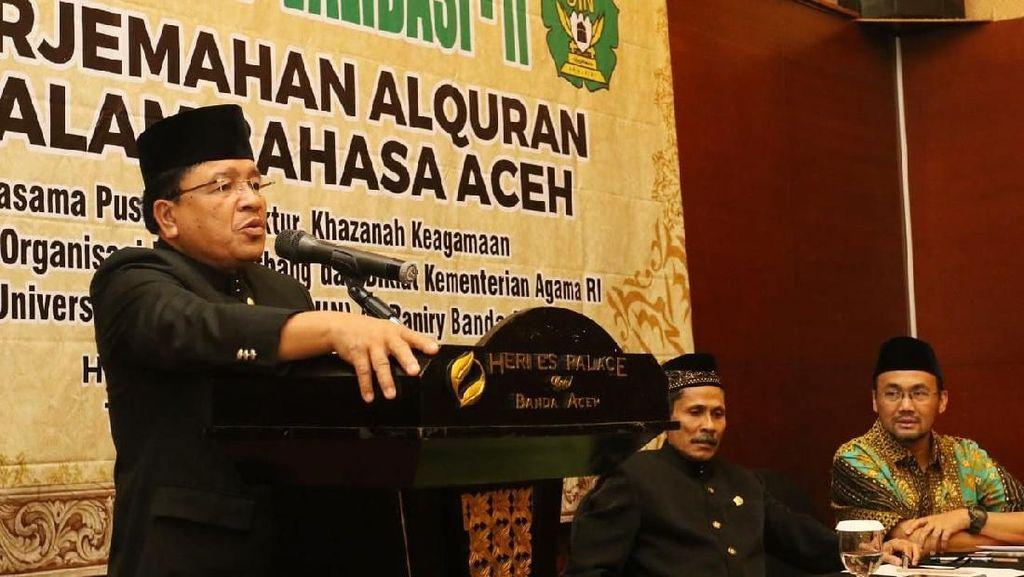 Kemenag dan UIN Kerja Sama Buat Terjemahan Alquran ke Bahasa Aceh