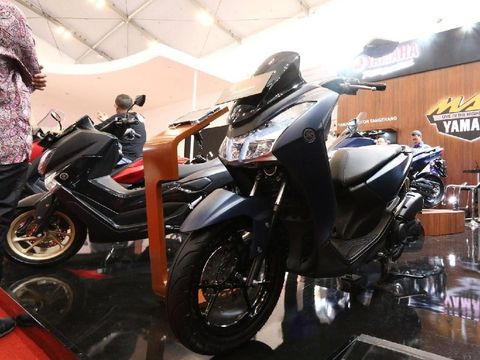 Yamaha Lexi dipamerkan di ajang GIIAS (Foto: dok. Yamaha)