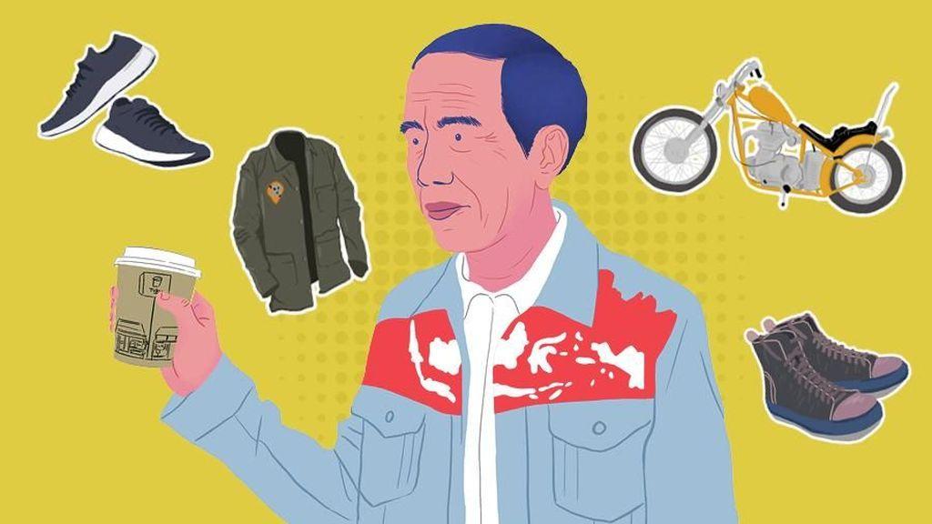 Produk Lokal yang Viral Setelah Dipakai Jokowi