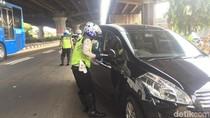 Hari Ketiga Ganjil-Genap, Banyak Mobil di Jaktim Kena Tilang