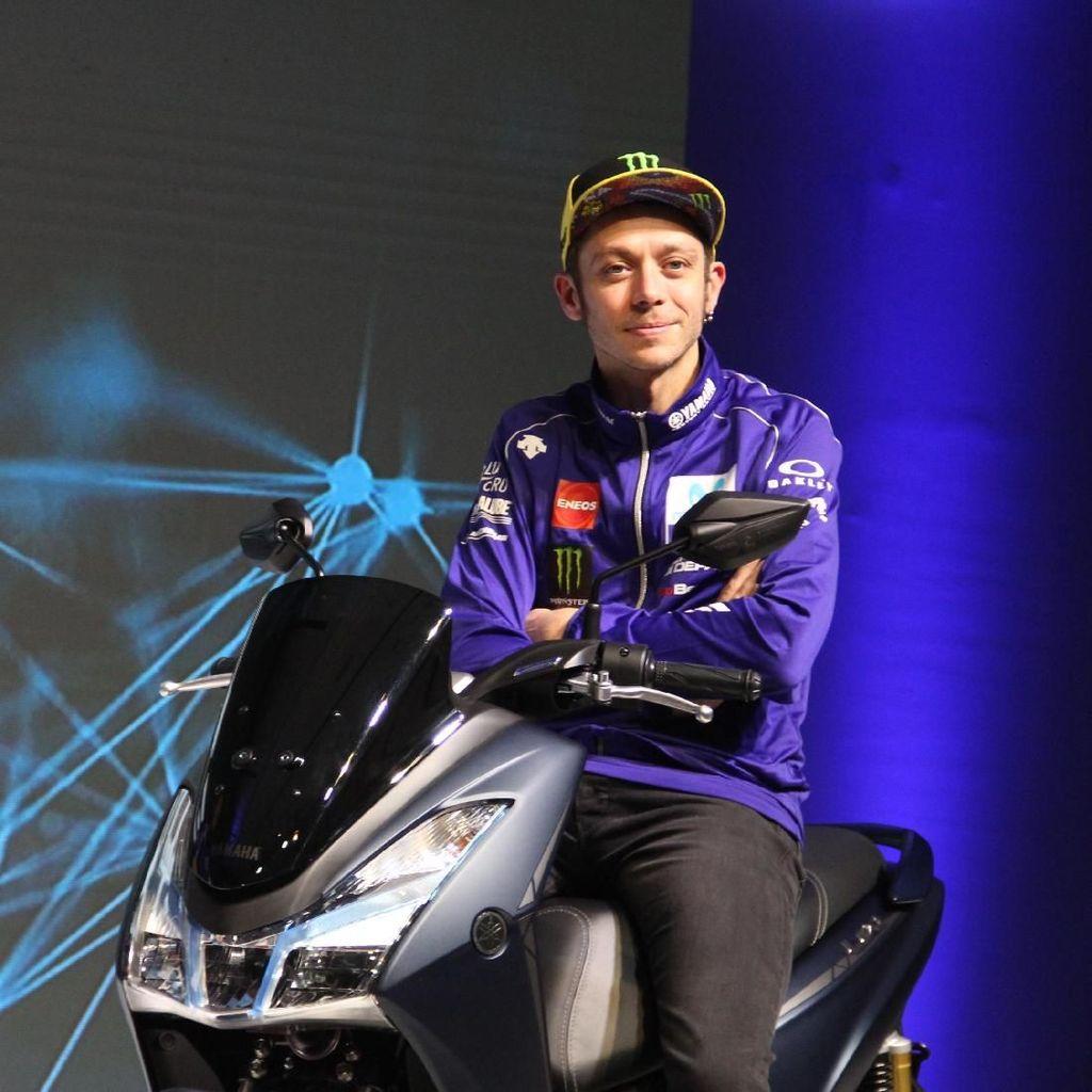 Motor Seksi Valentino Rossi Dipamerkan di GIIAS