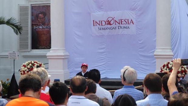 Puan Maharani Buka Pameran Seni Koleksi Istana Kepresidenan