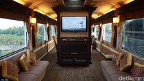 Melihat Kereta Wisata Bintang Lima yang Dinaiki Jokowi