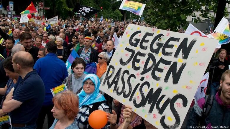 Dua Pertiga Warga Jerman Menilai Ada Masalah Rasisme di Negaranya