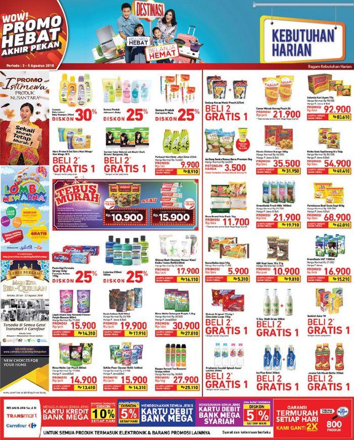 Promo Akhir Pekan Transmart Carrefour