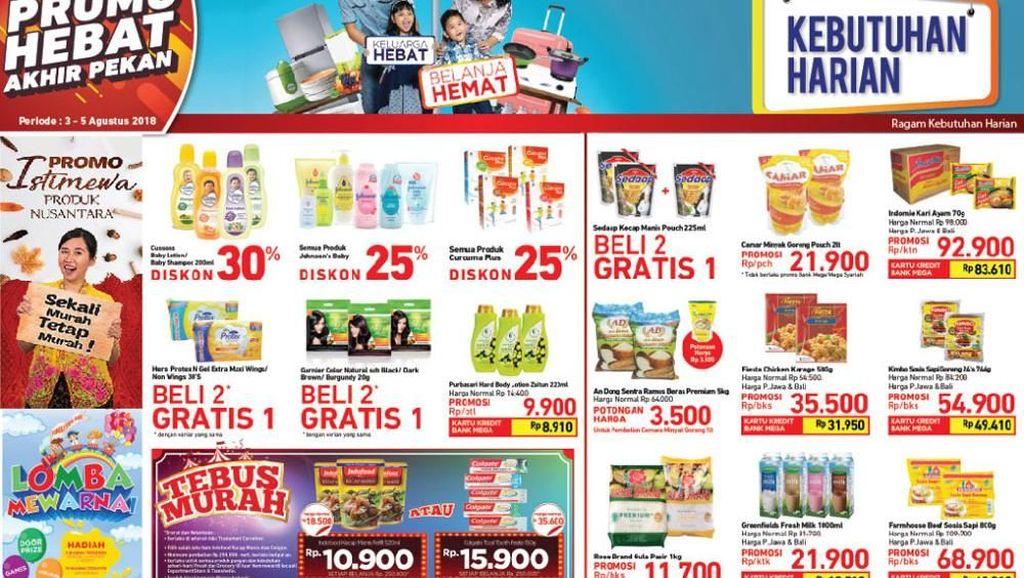 Mau Belanja Mingguan? Ini Daftar Promo Spesial  Transmart Carrefour!