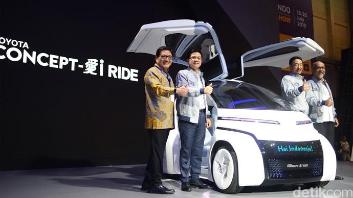 Bukan Burung, Ini Mobil Masa Depan Toyota