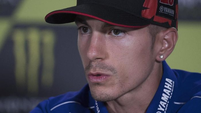 Rider Yamaha, Maverick Vinales. (Foto: Mirco Lazzari gp/Getty Images)