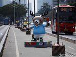 Arus Lalin Sekitar GBK Ditutup Saat Opening Ceremony Asian Games
