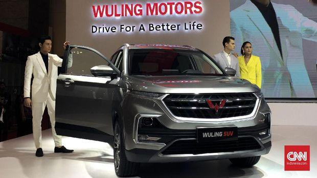 Wuling SUV yang diperkenalkan di GIIAS 2018.