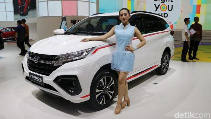 Mobil Edisi Spesial Daihatsu dipamerkan di GIIAS 2018