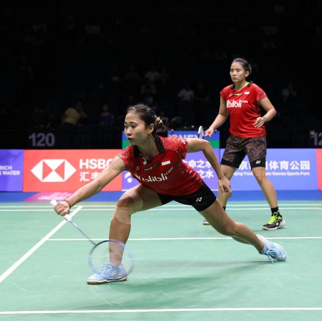 Anggia/Ketut Kalah, Indonesia Kirim Satu Wakil ke Semifinal Kejuaraan Dunia