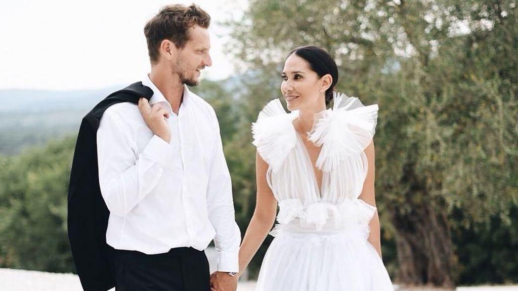 Mewahnya Pernikahan Putri Bangsawan Bali dengan Pengusaha Inggris di Italia