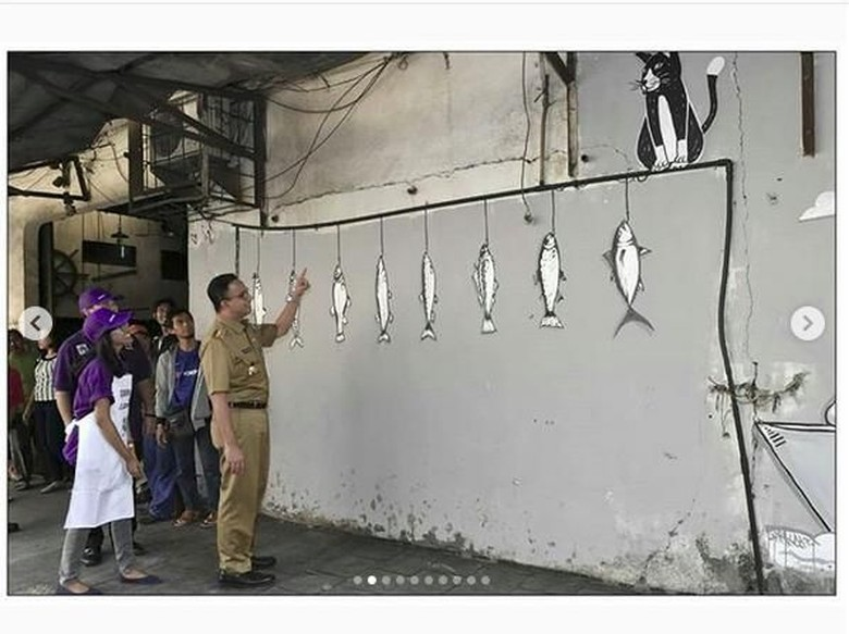 John Martono, Seniman Bandung yang Diajak Bikin Mural Beautifikasi Anies