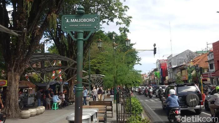 Jalan Malioboro, Yogyakarta, Jumat (3/8/2018).