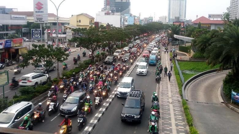 Trotoar Jalan Margonda Depok Akan Direvitaliasasi Tahun 2020