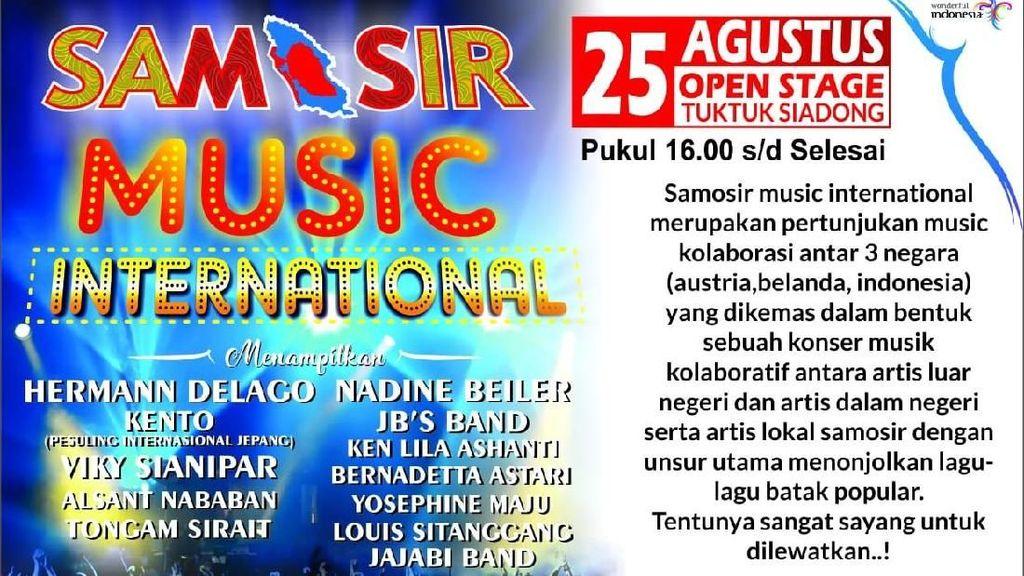 Samosir Music International 2018 Targetkan 10.000 Wisatawan ke Toba