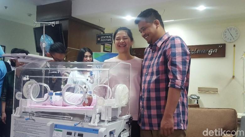Belum Pulang dari RS, Kahiyang-Bobby Masih Belajar Jadi Ibu-Bapak