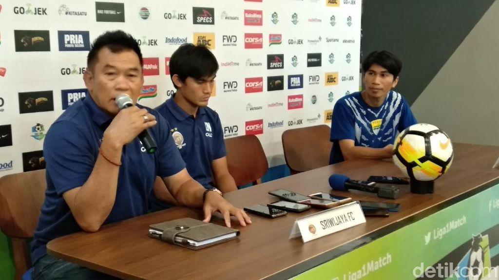 Sriwijaya FC Jadikan Laga Lawan Persib sebagai Momen Kebangkitan