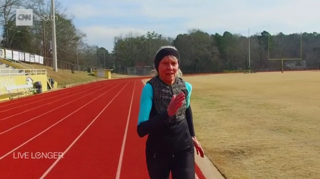 Jeanne Daprano, Nenek 81 Tahun yang Hobinya Lari Marathon