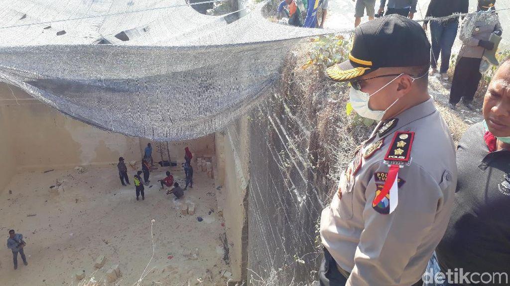 Dinilai Bahaya, Polisi Tutup Lokasi Gua yang Ditemukan di Tuban