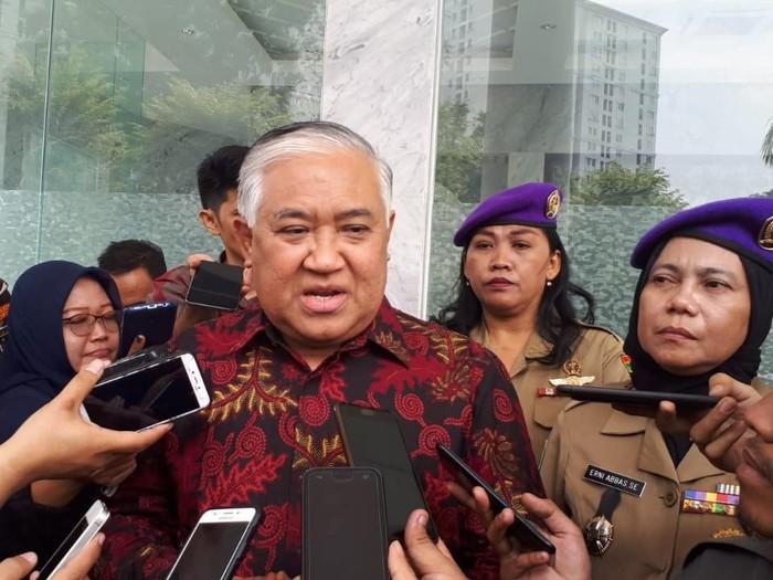 Ketua Dewan Pertimbangan MUI Din Syamsuddin (Faiq Hidayat/detikcom)