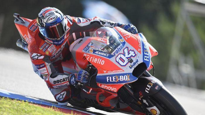 Andrea Dovizioso meraih pole position di Kualifikasi MotoGP Republik Ceko 2018 (Mirco Lazzari gp/Getty Images)