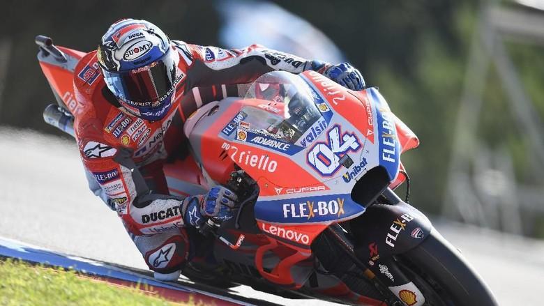 Kualifikasi MotoGP Republik Ceko 2018: Dovizioso Pole, Rossi Kedua