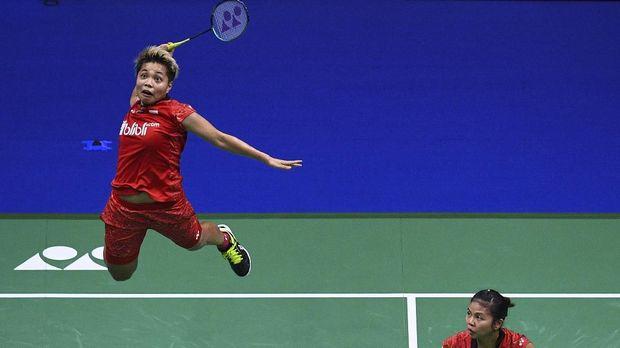 Greysia/Apriyani membuat Indonesia memiliki dua wakil di semifinal Jepang Terbuka 2018.