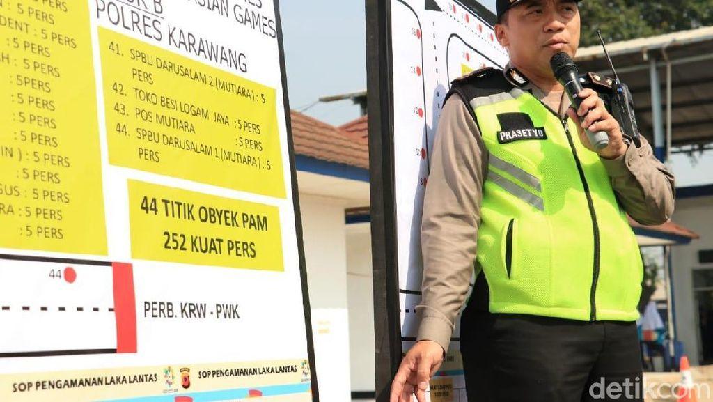 Jalan di Karawang Ditutup untuk Asian Games. Begini Solusinya