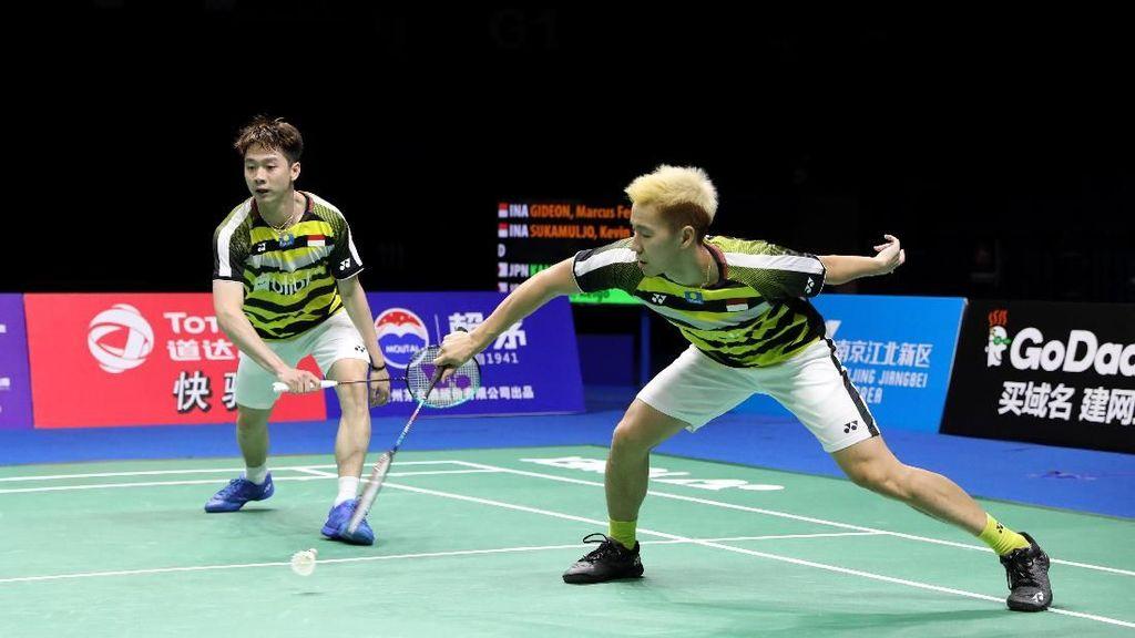Kevin/Marcus dan Fajar/Rian Siap Pikul Target Emas di Asian Games