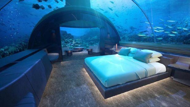 Ingin Liburan? Coba Hotel Bawah laut Pertama di Dunia Ini