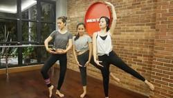 Lihat gaya olahraga yang sporty dari Nimaz Dewantary Bintang Drama Korea-Indonesia, body goals abis!