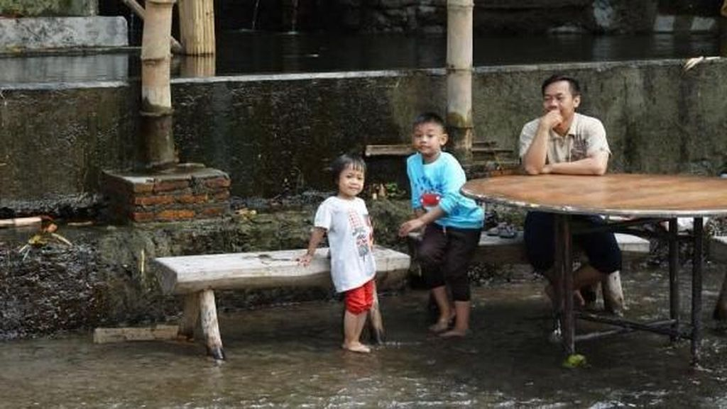 Ada di Boyolali, Sensasi Wisata Kuliner di Sungai