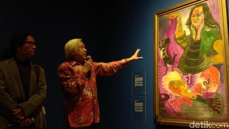 Rayakan Seabad, 32 Lukisan Mahakarya Hendra Gunawan Dipamerkan