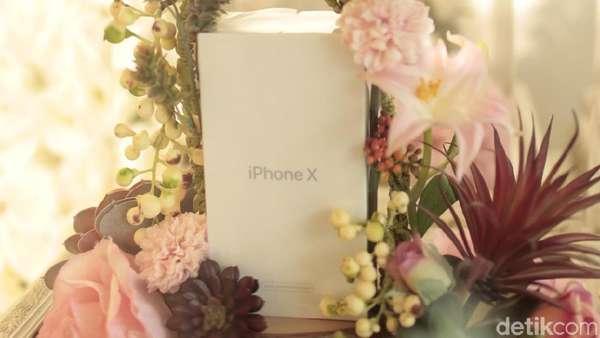 Riasan hingga iPhone X Jadi Seserahan Denny Sumargo