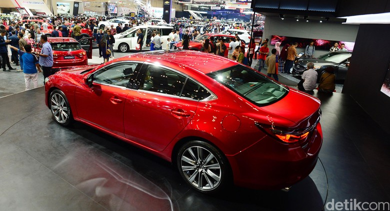 Mazda di GIIAs 2018. Foto: Ari Saputra
