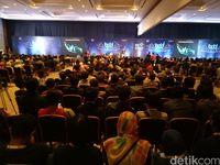 Acara Bekraf Developer Day diikuti ribuan anak muda Makassar.