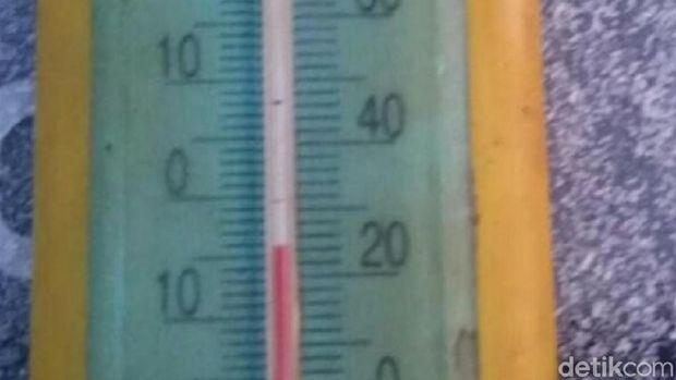 Suhu minus 4 derajat