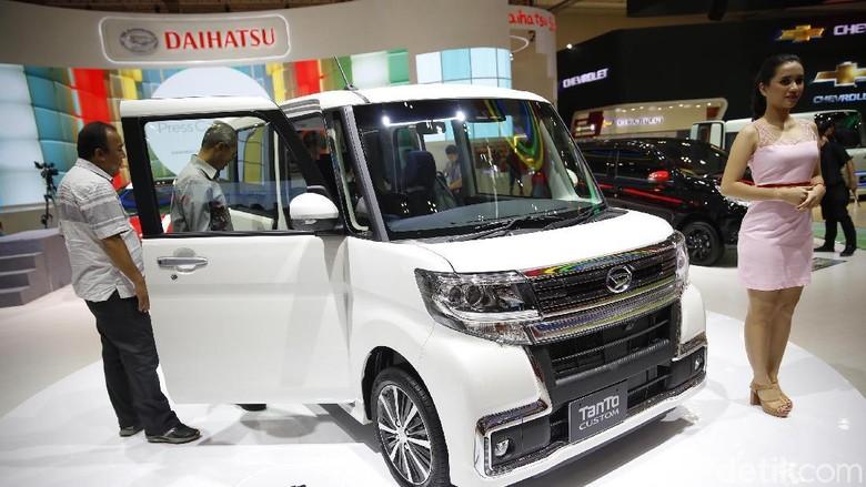 Daihatsu Tanto Custom di GIIAS 2018 (Foto: Rachman)