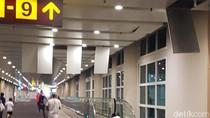 Foto: Plafon Rusak di Bandara Ngurah Rai Akibat Gempa Lombok 7 SR