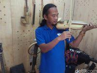 Bambu Olahan Made in Cimahi Tembus Pasar Dunia
