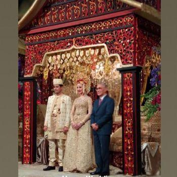 resepsi pernikahan panji dan varsha