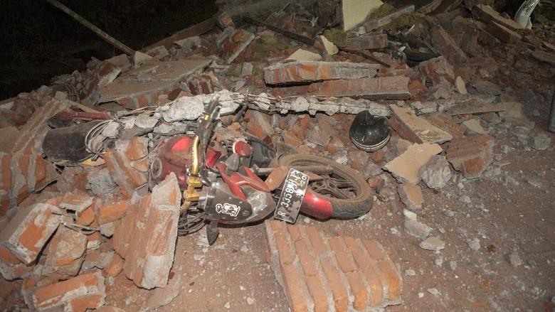 Hingga Pagi ini, Sudah 124 Kali Gempa Susulan di Lombok