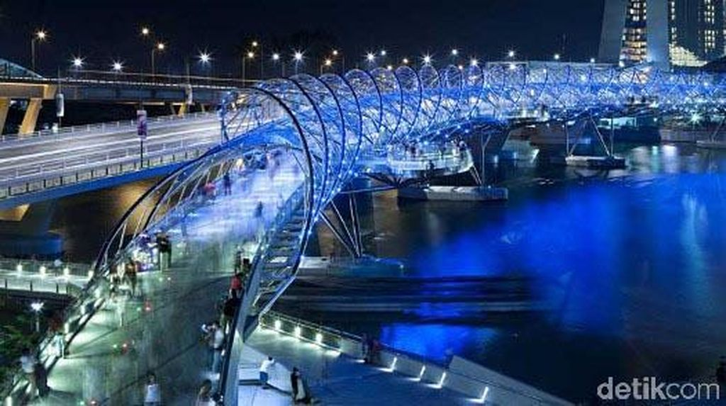 Deretan Jembatan yang Desainnya Bikin Takjub